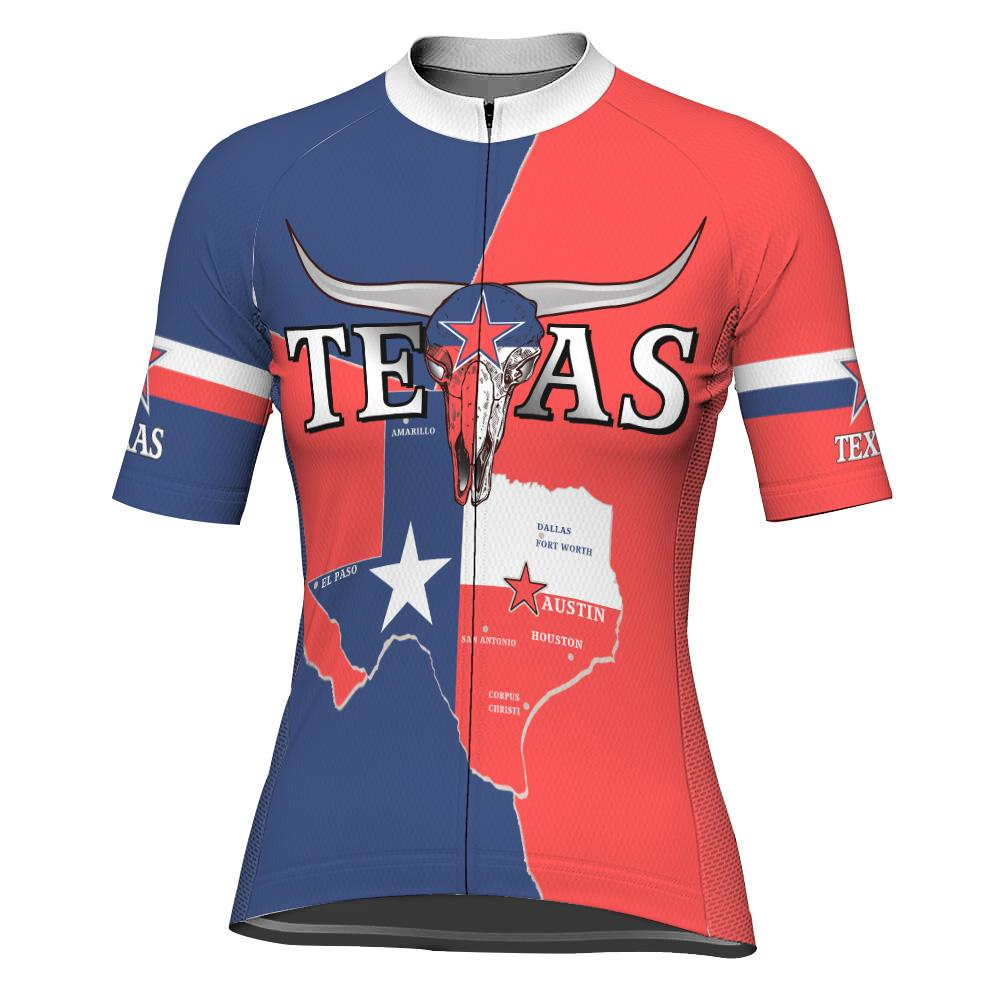 Customized Texas Winter Thermal Fleece Short Sleeve For Women