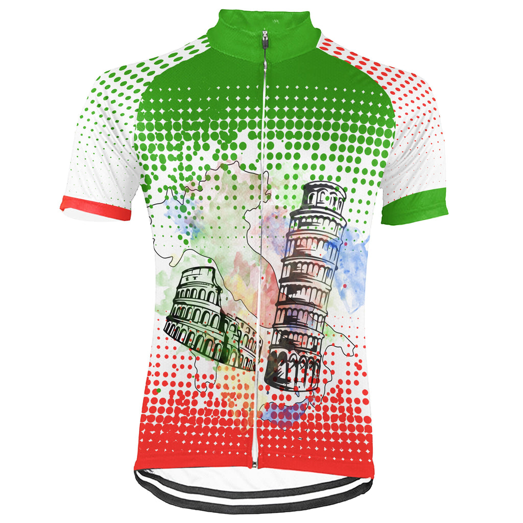 Customized Italia Winter Thermal Fleece Short Sleeve For Men