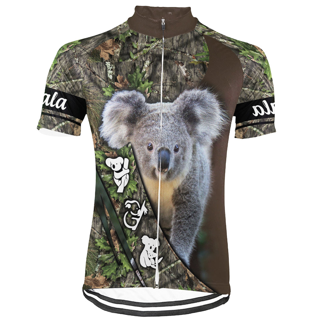 Customized Koala Short Sleeve Cycling Jersey for Men