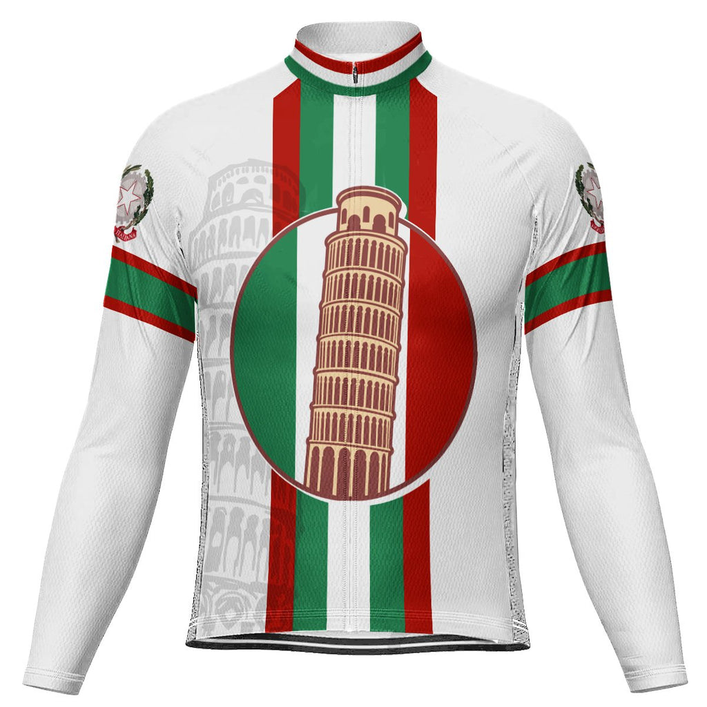 Customized Italia Long Sleeve Cycling Jersey for Men