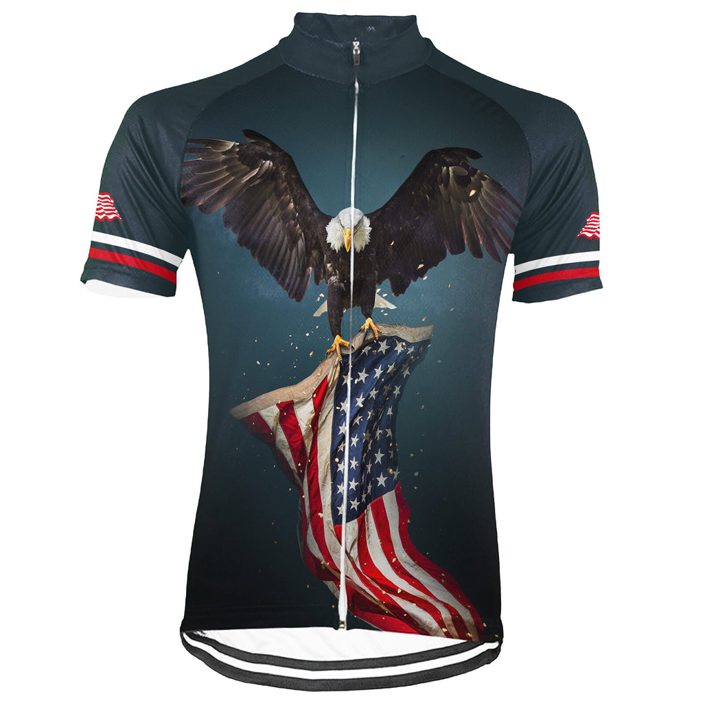 Customized Usa Winter Thermal Fleece Short Sleeve For Men