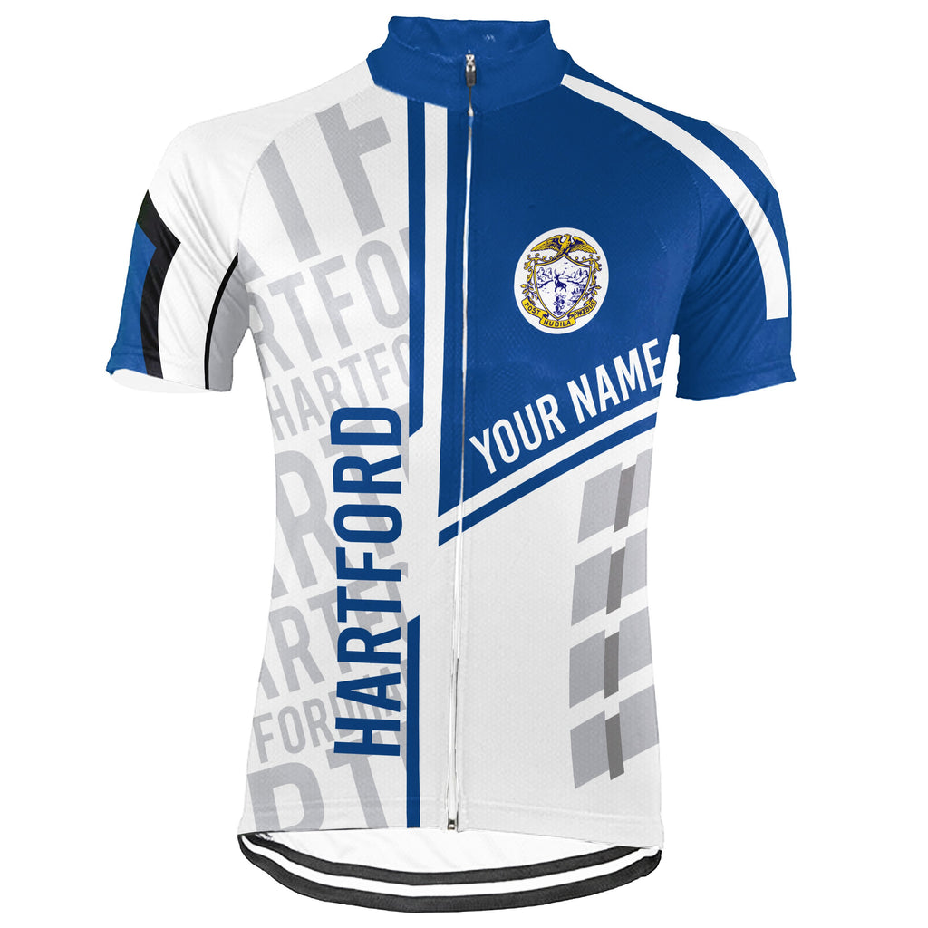 Customized Hartford Short Sleeve Cycling Jersey for Men