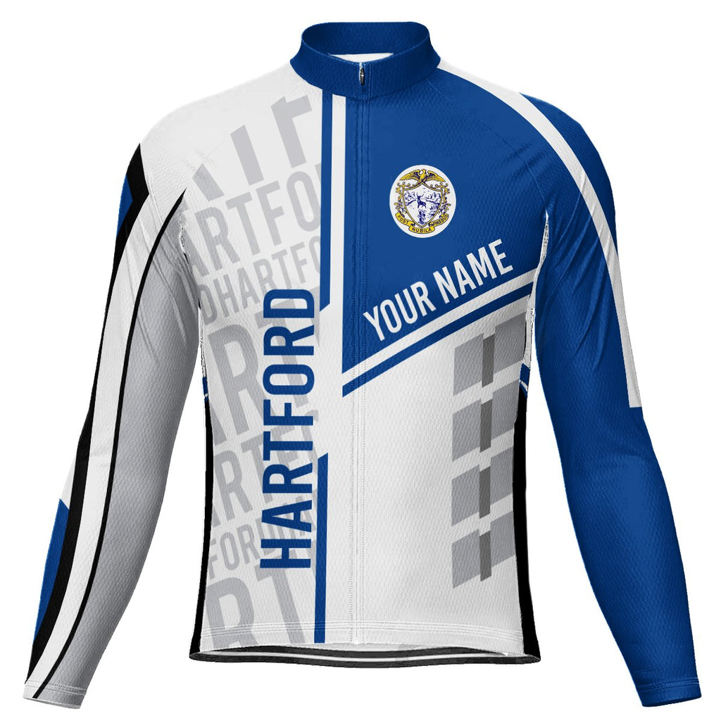 Customized Hartford Long Sleeve Cycling Jersey for Men