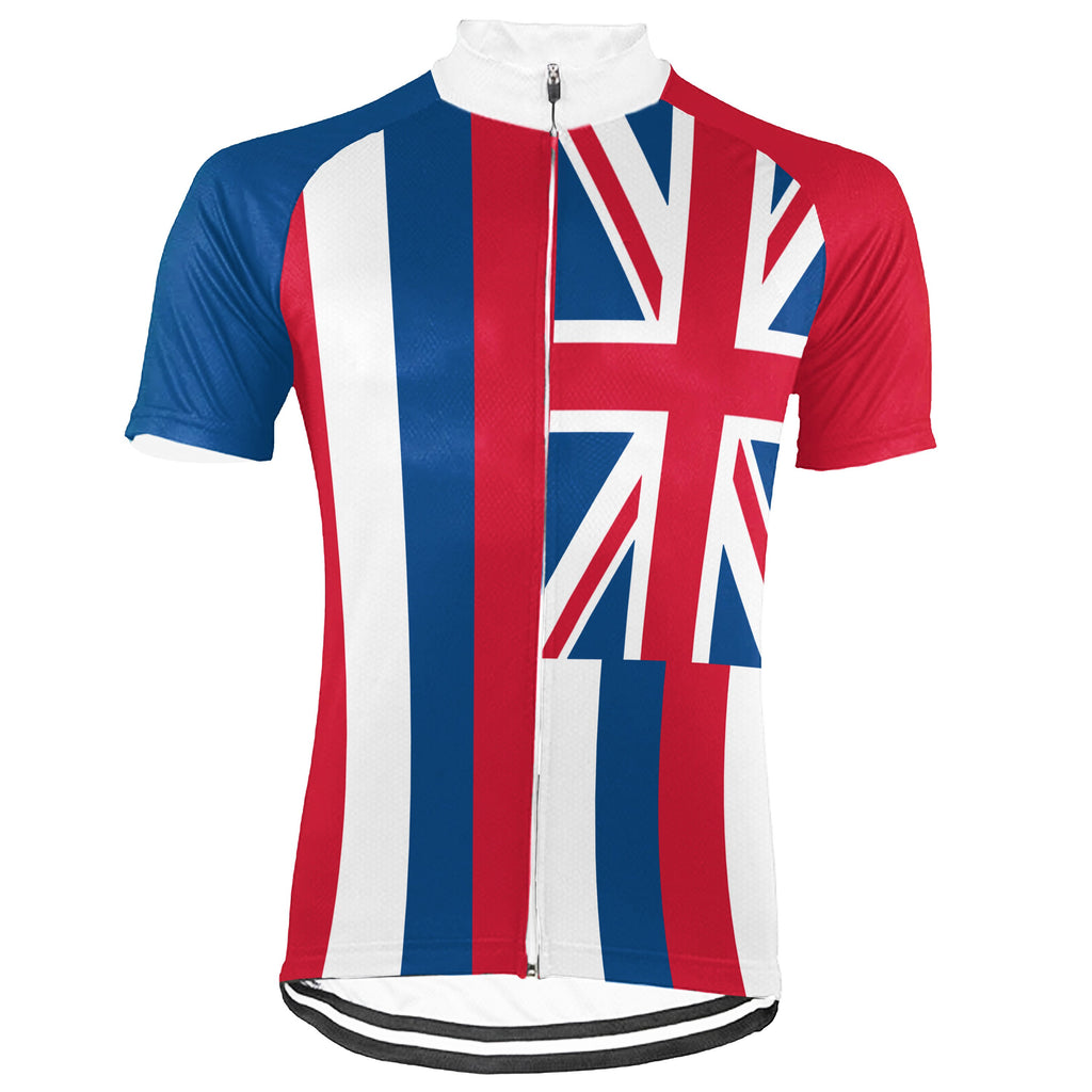 Customized Hawaii Short Sleeve Cycling Jersey for Men