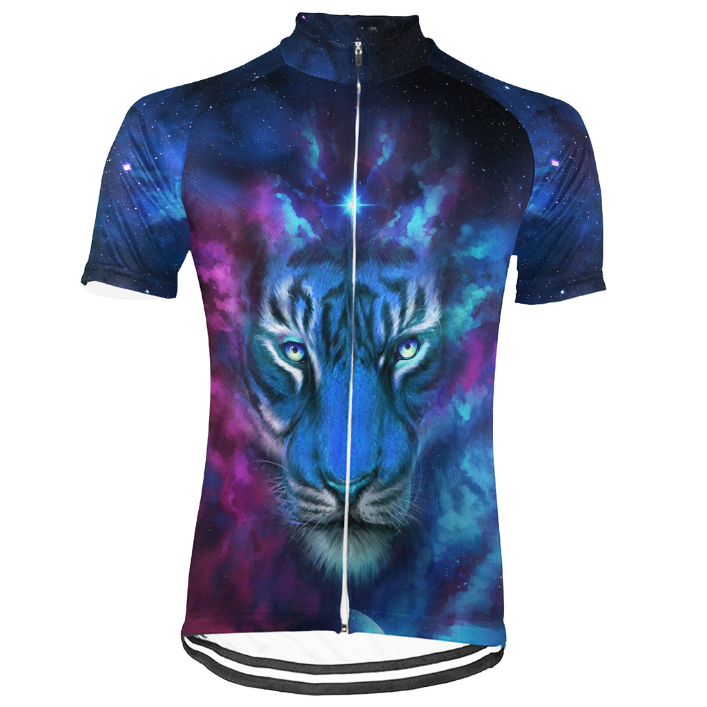 Tiger  Short Sleeve Cycling Jersey for Men