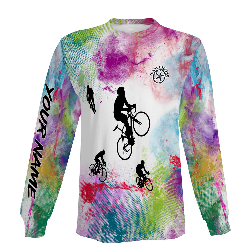 Colorful Biking Long Sleeve, Short Sleeve, Zip Up Hoodie, Hoodie Personalized Gift For Men