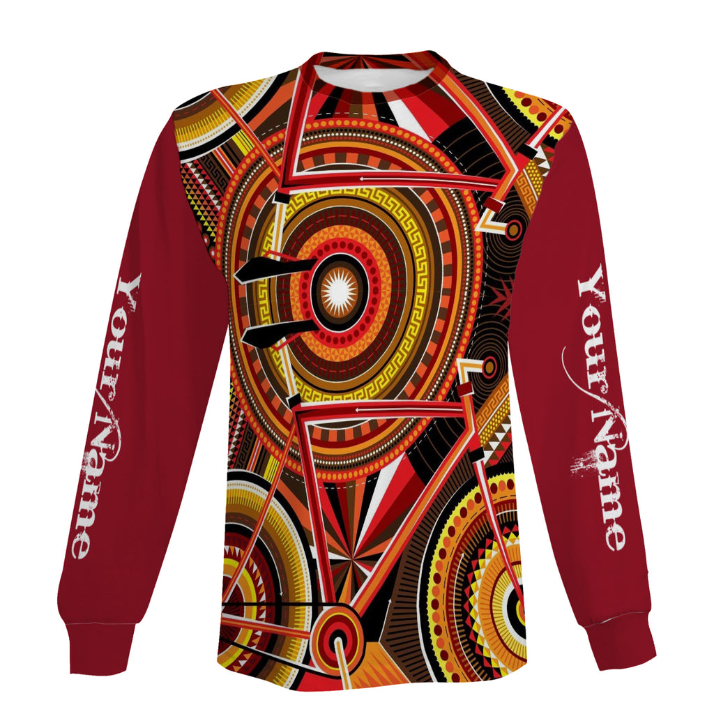 Cycling Full Printing Short Sleeve, Zip Up Hoodie, Long Sleeve, Hoodie Personalized Gift For Men