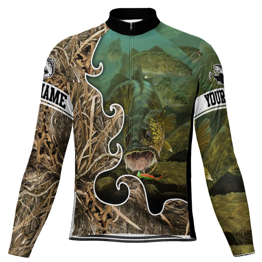 Customized Fishing Long Sleeve Cycling Jersey for Men