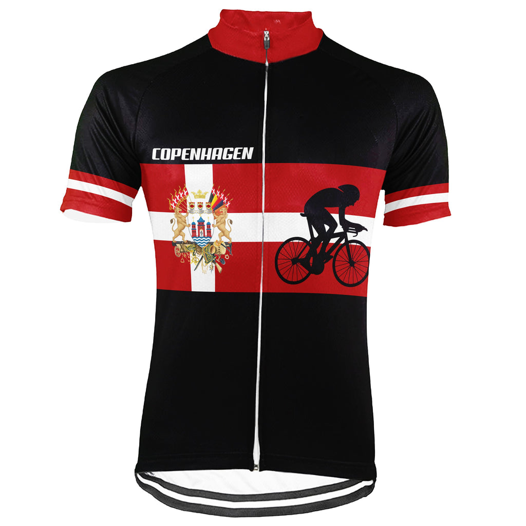Customized Copenhagen Short Sleeve Cycling Jersey for Men