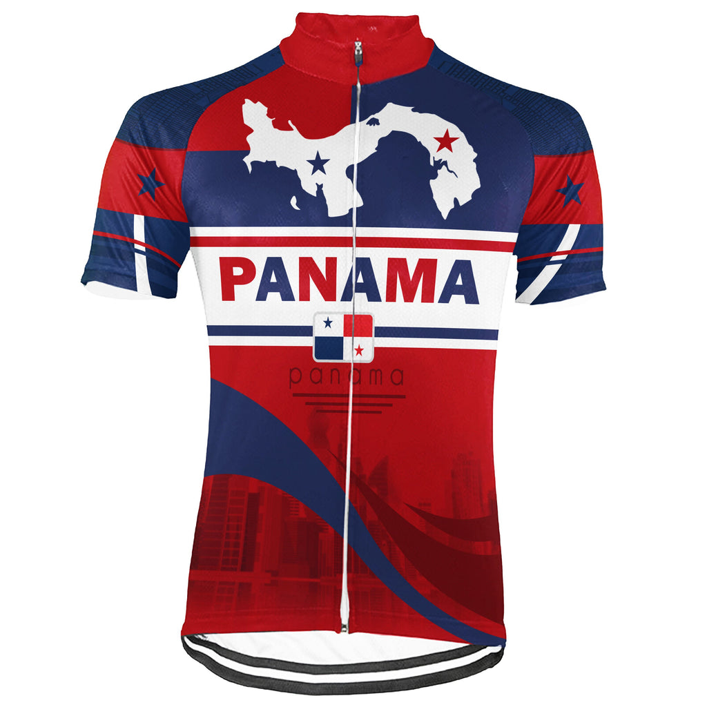 Customized Panama Short Sleeve Cycling Jersey for Men