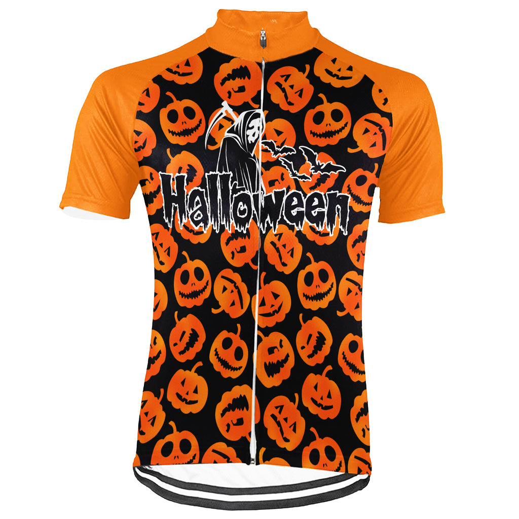 Customized Halloween Short Sleeve Cycling Jersey for Men
