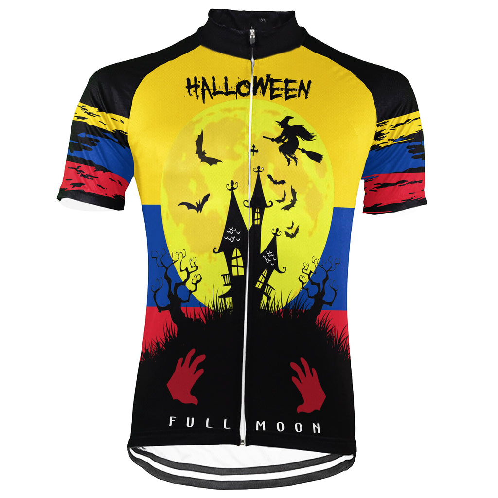 Customized Colombian Short Sleeve Cycling Jersey for Men