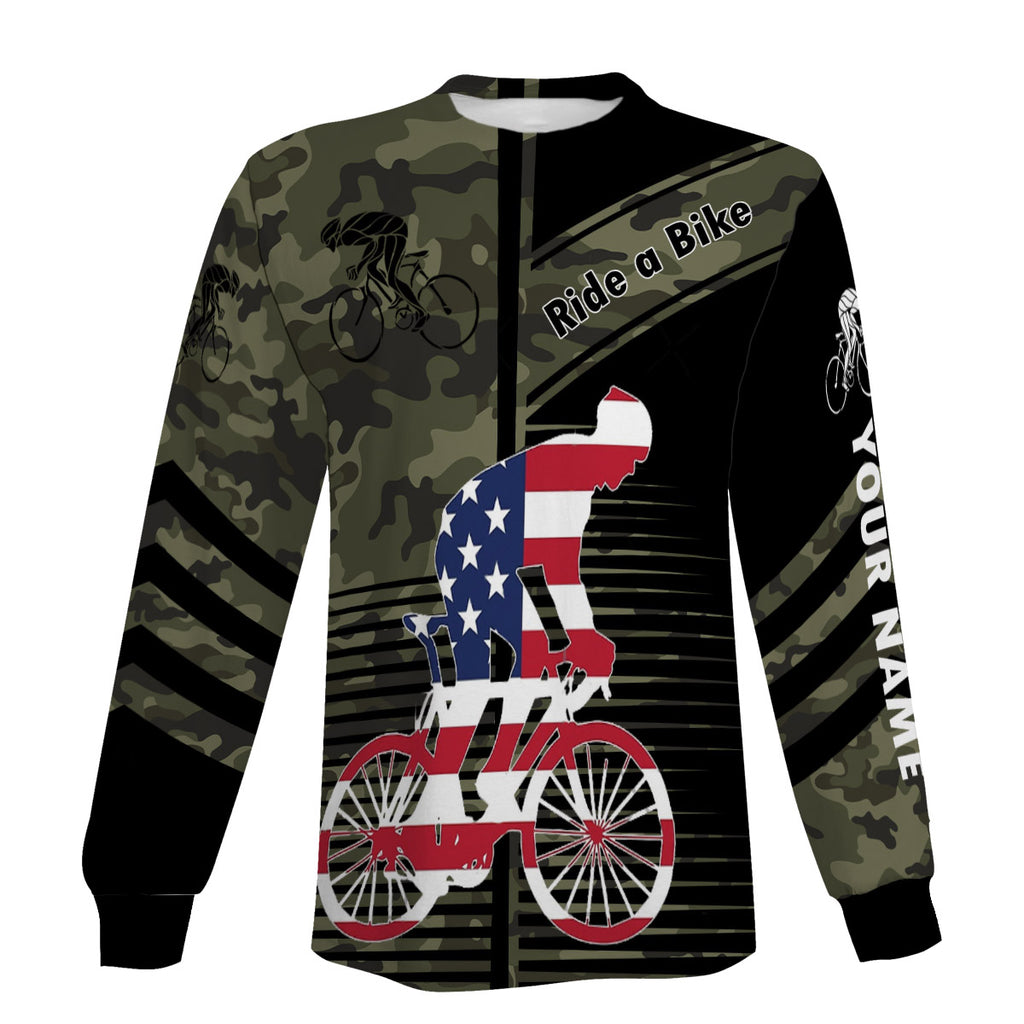 Men's Personalized Ride A Bike Short Sleeve, Long Sleeve, Hoodie And Zip Up Hoodie- Great Gift Ideas