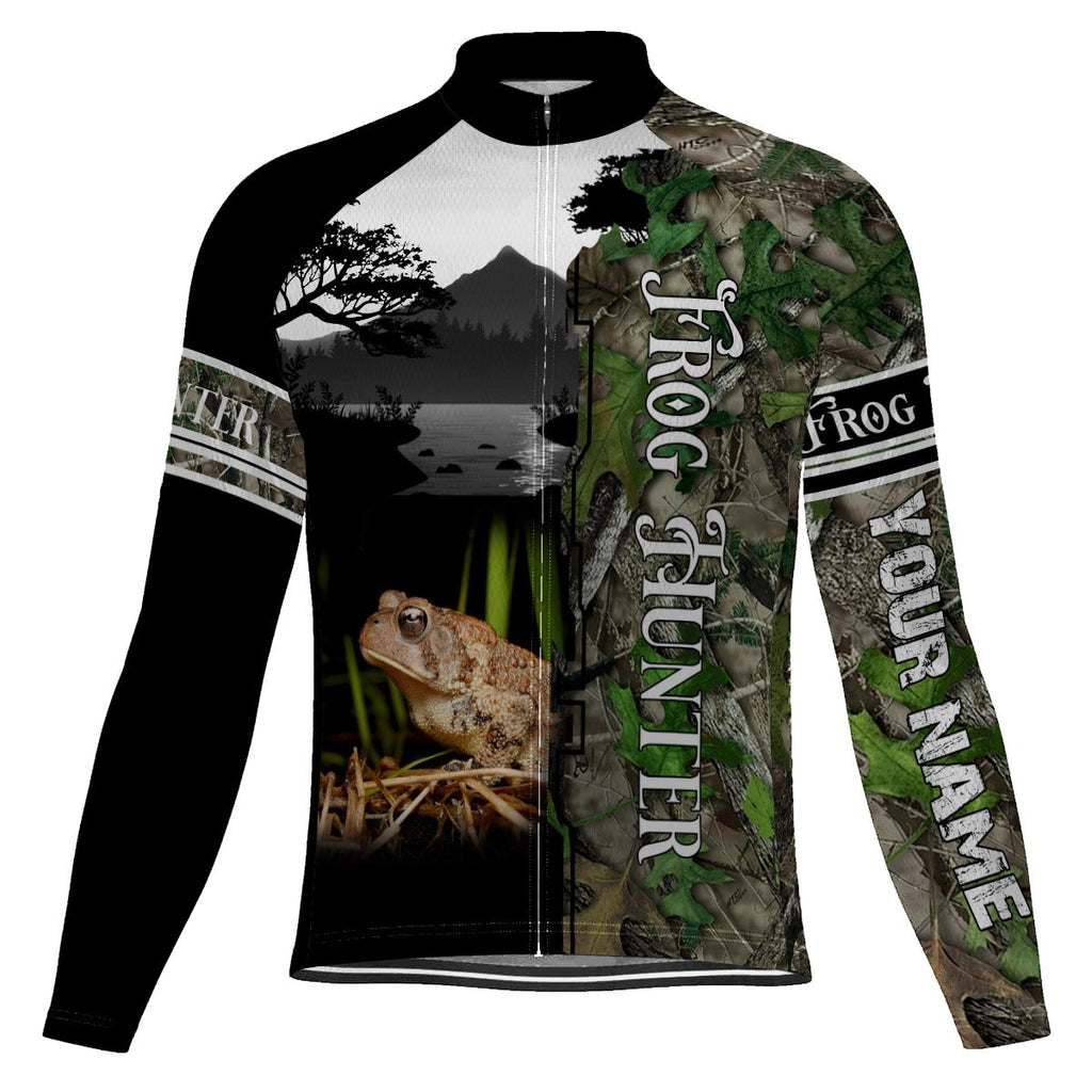 Customized Frog Long Sleeve Cycling Jersey for Men