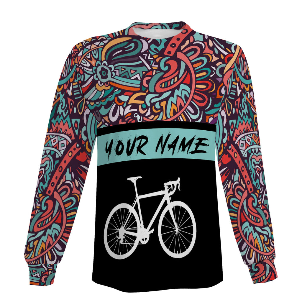 Cycling Jersey Men's Personalized Long Sleeve, Short Sleeve, Hoodie and Zip Up Hoodie-Comfortable, Breathable and Quick Dry