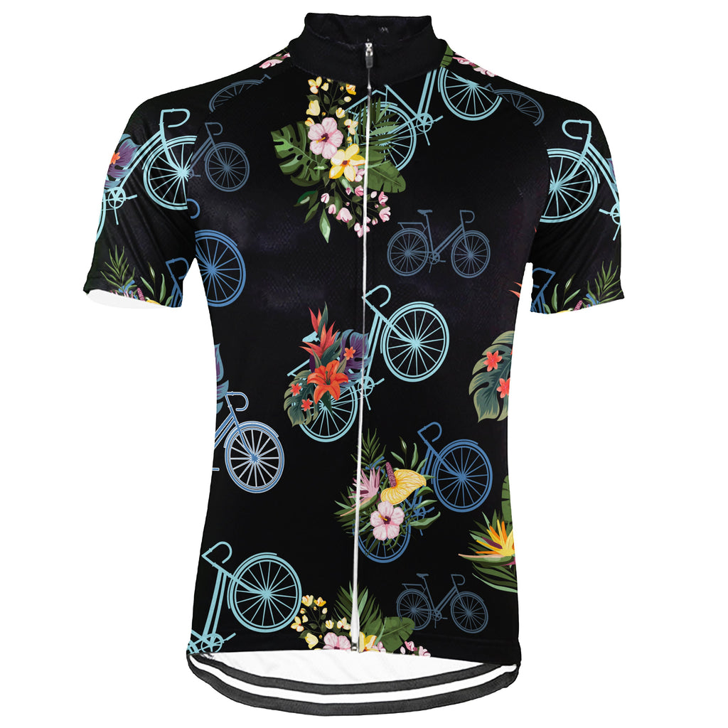 Customized Colorful Short Sleeve Cycling Jersey for Men