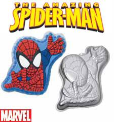 HIRE CAKE TIN SPIDERMAN- Phone To Hire