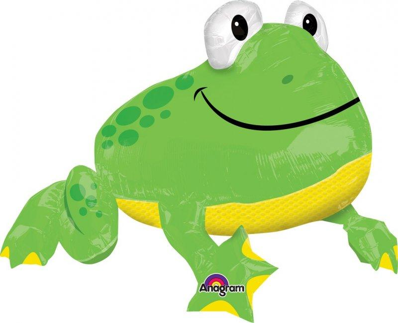 BALLOON FOIL SHAPE FROGGY