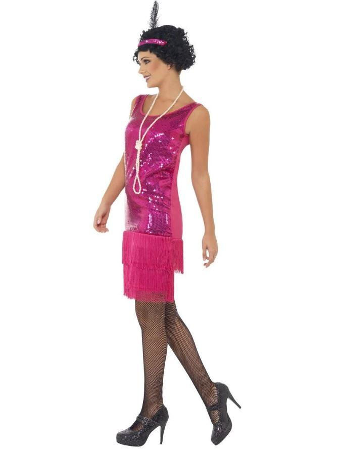 COSTUME ADULT FUNTIME FLAPPER LARGE