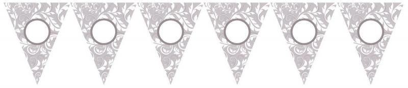 BANNER PENNANT KIT PERSONAL SILVER
