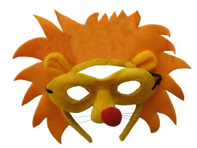 HEADBAND MASK SET LION