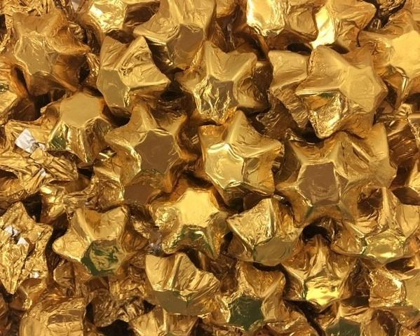 CHOCOLATE STAR GOLD 1KG