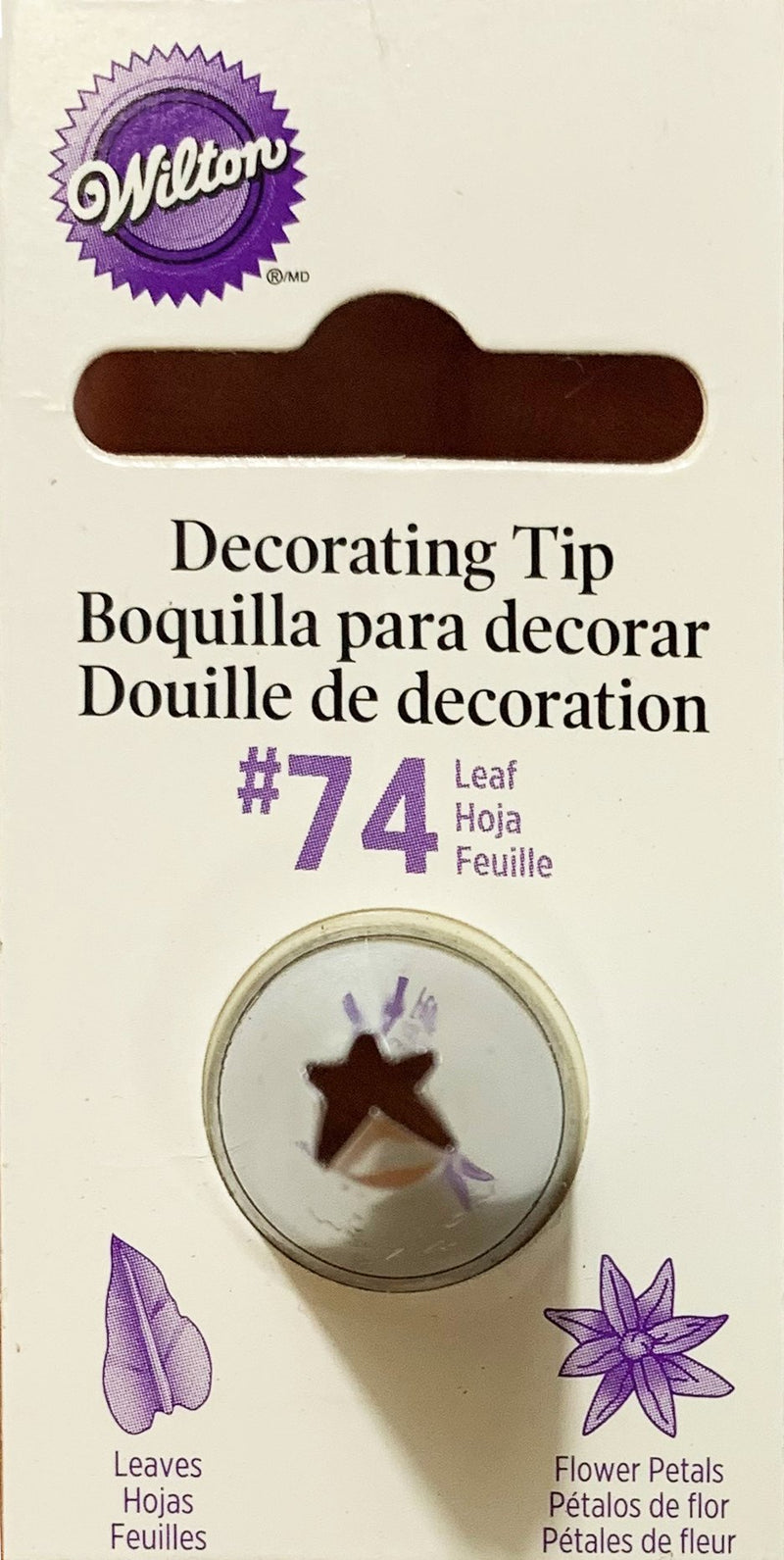 ICING TIP LEAF NO 74