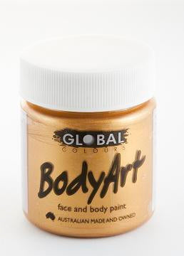 BODY PAINT GOLD METALLIC 45ML TUB