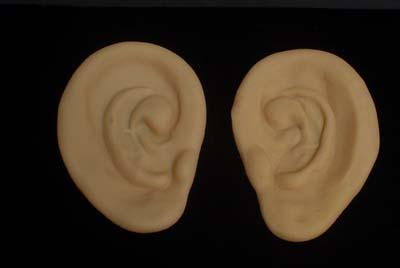 EARS BIG PLASTIC FLESH