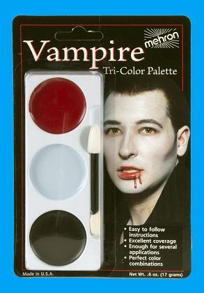 MAKE UP VAMPIRE TRI COLOUR MEHRON