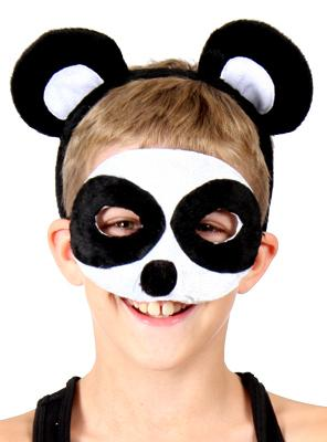 HEADBAND MASK SET PANDA