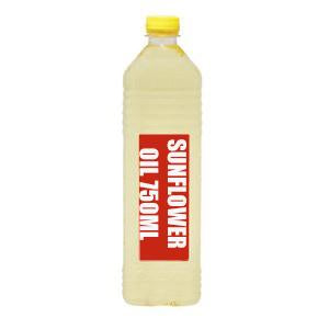 SUNFLOWER OIL 750ML BOTTLE