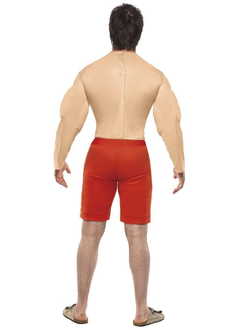 COSTUME ADULT BAYWATCH MUSCLE LIFEGUARD LARGE