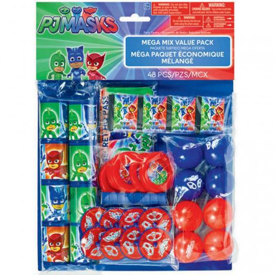 PJ MASKS MEGA MIX VALUE PK/48