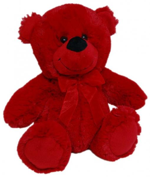 JELLY BEAR 23CM RED