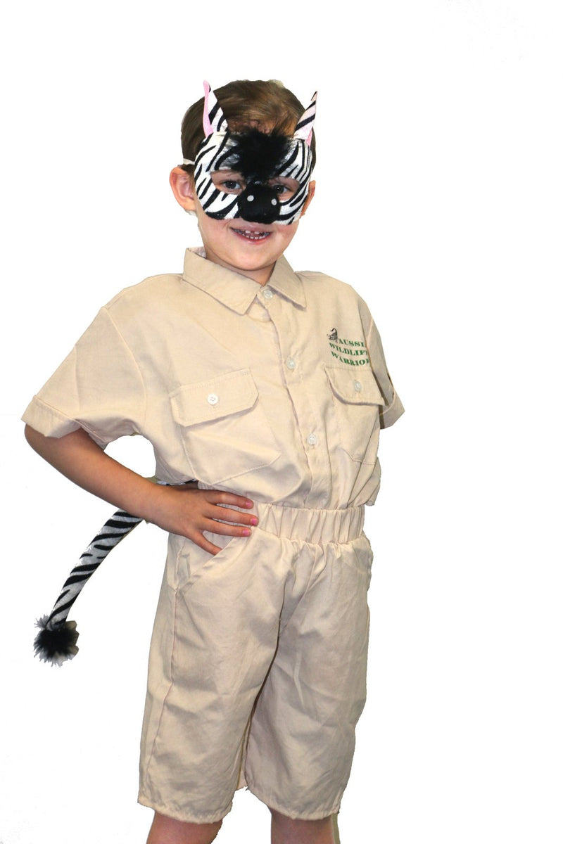 COSTUME SET DELUXE ZEBRA