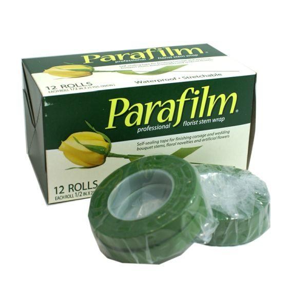 PARAFILM TAPE STEM WRAP GREEN FLORIST TAPE