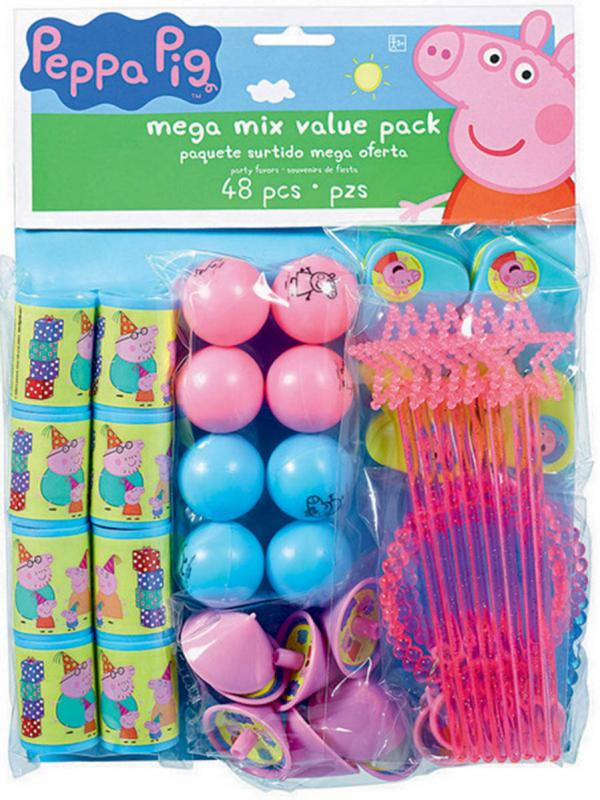 PEPPA PIG MEGA VALUE FAVOURS PK/48