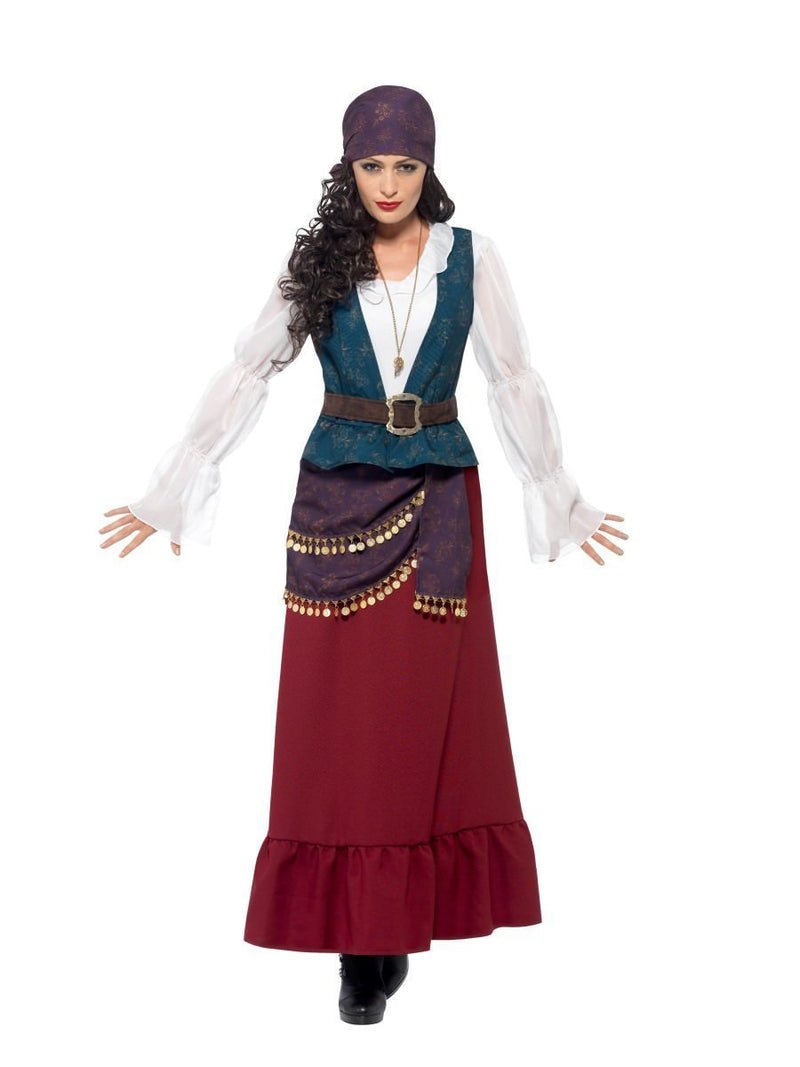 COSTUME ADULT LADY BUCCANEER LARGE