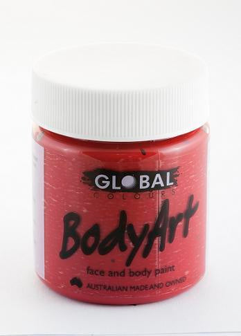 BODY PAINT RED DEEP 45ML TUB