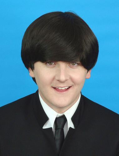 WIG BEATLES DARK BROWN
