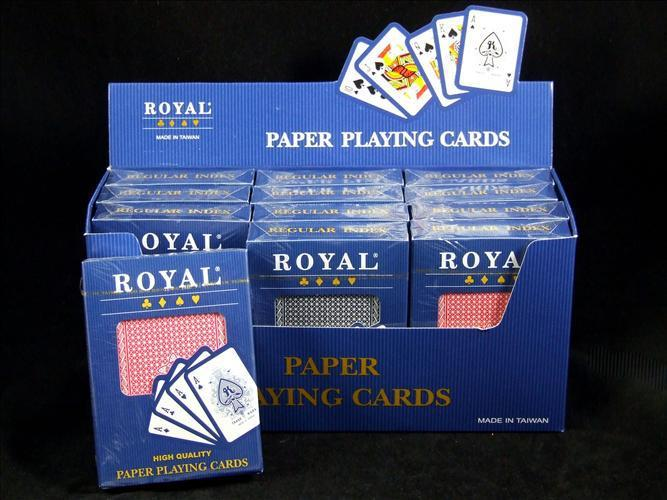 CARDS PLAYING ROYAL HIGH QUAILTY - Discontinued Line Last Chance To Buy