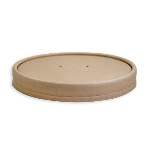 BAMBOO FOOD CONTAINER LID 115MM PK/25