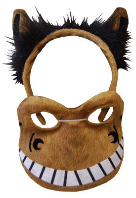 HEADBAND MASK SET HORSE