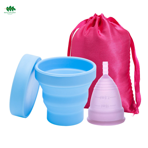 Intimate Menstrual Cup - Refill4Planet - Feminine Sanitary Supplies