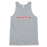 Sando Boys™ Flame Scarlet Classic tank top (unisex)