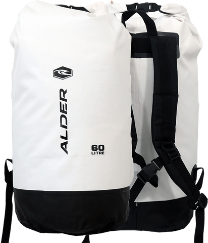 Alder Dry Bag 60L White - Boardrider Adventure