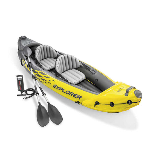 Intex Explorer Inflateable Kyak 2 Man - Boardrider Adventure