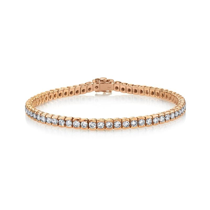 SHAY Diamond Bezel Tennis Bracelet