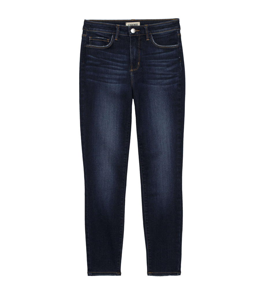 L'Agence Margot High Rise Skinny Baltic Wash Denim